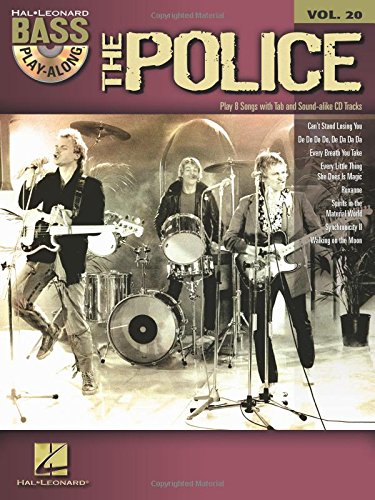 Bass Play-Along Volume 20:The Police