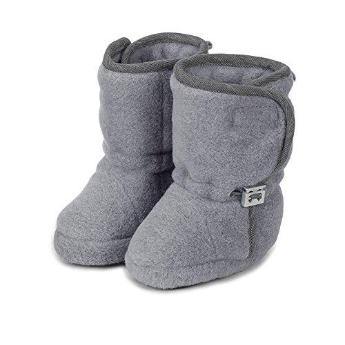 Sterntaler Jungen Baby-Schuh Stiefel Grau (Silber Melange), 21/22 EU