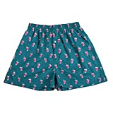 #4: The Cotton Company Men's 100% Cotton Boxer Shorts with Drink Print