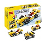 #4: Tickles Decool 3 In 1 Architect Bricks 121 Pcs(Yellow)