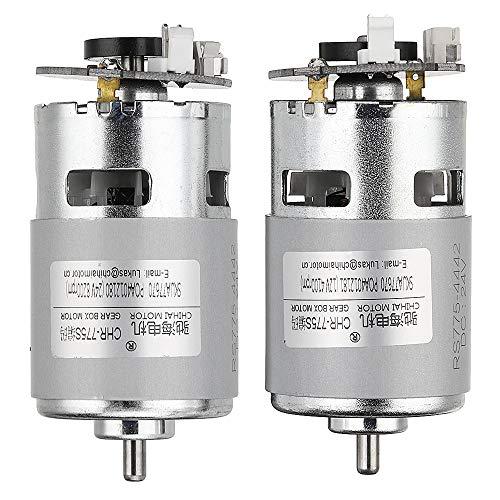 Pannow CHR-775S Magnetischer Holzer Encoder DC Motor 24,0 V 8000 U/min 12,0 V 4000 U/min Roboter Motor, 24V, 1 24v, Chr