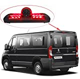 Voiture Troisième monté sur Le Toit Haut caméra Lampe de Frein lumière de Frein Vue arrière Caméra de recul pour Fiat Ducato X250/Peugeot Boxter III Avis AVS325CPR/Citroen Jumper