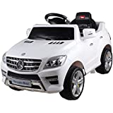 Licensed Mercedes ML350 6V Electric Ride on Kids Car with Remote - Red - New by Predatour