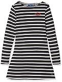 TOM TAILOR für Mädchen Kleider & Jumpsuits Gestreiftes Kleid real Navy Blue, 176