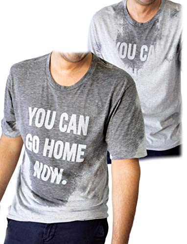 53bb5f4e LeRage You Can Go Home Now Hidden Message Gym Shirt Funny Workout tee  X-Large