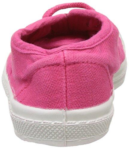 Bensimon Tennis Lacet, Baskets Basses Mixte Enfant Rose (Rose)