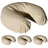 Royal Massage Set der 4gebürstetes Flanell Spannbettlaken Gesichtsauflage