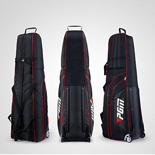 Housse de sac de voyage à roues rembourrée et pliable, avec un petit sac de rangement - PGM,...