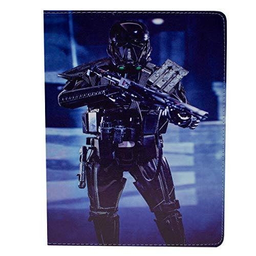 ad 6) Folio Star Wars Hülle/Schützendes PU Leder Smart Flip Hülle/iCHOOSE / Deathtrooper - Vorderseite ()