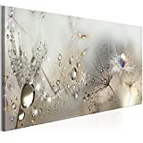 murando - Bilder Pusteblume 135x45 cm Vlies Leinwandbild 1 TLG Kunstdruck modern Wandbilder XXL Wanddekoration Design Wand Bild - Blumen Natur grau Pusteblumen b-C-0169-b-b