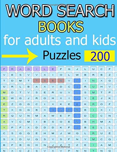 Word Search Puzzles of brain-boosting entertainment for adults and kids: Puzzles of brain-boosting entertainment for adults and kids Funster Word Search Book for Adultsand kids por ja kiw