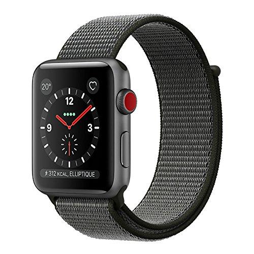 518%2Bz9FeWuL - [Euronics] Apple Watch Series 3 LTE 42mm Aluminiumgehäuse Space Grau MQKR2ZD/A für nur 449€