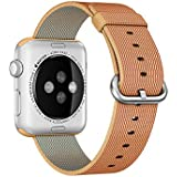 APPLE 42mm Gold/Red Nylon Band preiswert