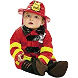 My Other Me - Disfraz de bebé bombero, 0-6 meses (Viving Costumes 203289)