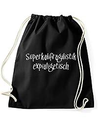 Mary Poppins lustig Turnbeutel Sportbeutel Jutebeutel Rucksack Spruch Sprüche