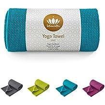 Lotuscrafts - GRIP - Toalla para hacer yoga - Antideslizante - 183 x 61 cm