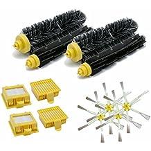 Kit Medium 6brazos Serie 700, Cepillos y Filtros para iRobot Roomba serie 760761762763764765766767768769770771772773774775776777778779780garantía JSD