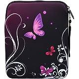 MySleeveDesign – Funda universal de neopreno para iPad Pro 9.7 , Air 2 y tablet de 9.7 / 10 / 10,1 pulgadas – VARIOS DISEÑOS Y COLORES - Butterfly Light