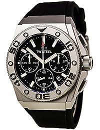TW Steel CE5008 - Reloj para hombres, correa de cuero