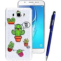 Yokata Samsung Galaxy J7 2016 Hülle Transparent Glitzer Weiche Silikon Handyhülle Schutzhülle TPU Handy Tasche... preisvergleich bei billige-tabletten.eu