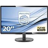 Philips 200V4QSBR/00 19,53 cm (19,53 Zoll) Monitor (VGA, DVI, 1920 x 1080) schwarz
