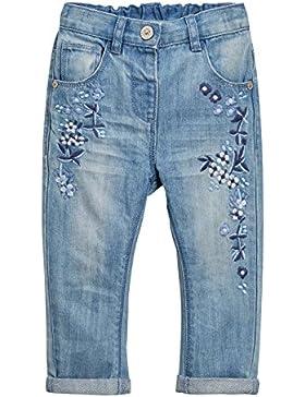 next Bambine E Ragazze Jeans Con Fiori Ricamati (3 Mesi-6 Anni) Vestibilità Standard