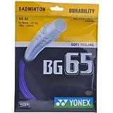 Yonex BG 65 Badminton Strings, 0.70mm (Violet)