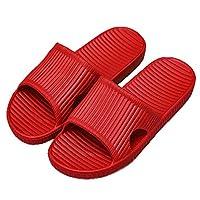 APIKA Bathroom Shower Anti-slip Slipper for women (Red 40/41)