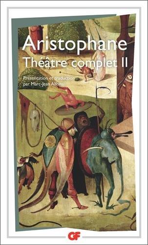 Aristopohane : Thétre complet Tome 2 par Aristophane
