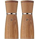 WMF Salz-/ Pfeffermühlen-Set 2-teilig Salzmühle Pfeffermühle Ceramill Nature mit Mahlwerk aus Keramik