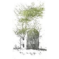"""Stamperia D'Arte Busato: """"Casa"""" - Marina Marcolin - incisione a ceramolle stampata a mano con il torchio a stella. Numerate e firmate dall' artista."""