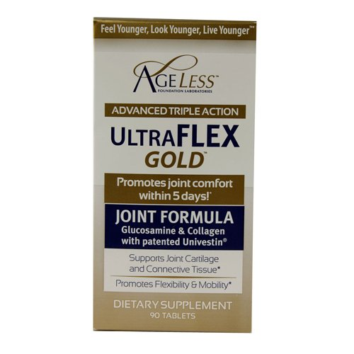 Ageless Foundation - UltraFLEX Gold Formule Articulations 90 Comprimés