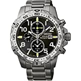 Seiko Solar Mens Silver Stainless Steel Chronograph Watch SSC307P9