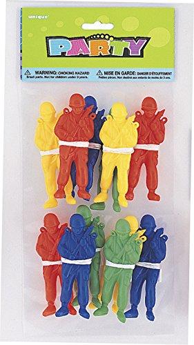 s Spielzeug-Fallschirmspringer, Tütenfüller, pro Packung 12Stück ()