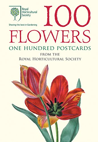 100 Flowers from the RHS: 100 Postcards in a Box (Postcard Box) Edwin-box
