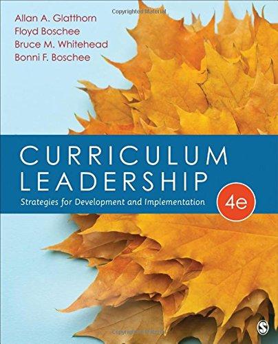 PDF Download Full] Curriculum Leadership: Strategies for