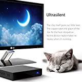 Bqeel Z83 II Mini PC Windows 10 Linux TV Box Mini Desktop-PC / Intel HD-Grafik / 2GB DDR3 + 32GB eMMC / 4K / 1000Mbps LAN / Dual-Band WiFi / Bluetooth 4.0 / USB 3.0 / HDMI / SD (Intel Atom x5-Z8350) - 3