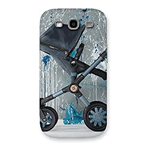 Special Denim Baby Print Back Case Cover for Galaxy S3