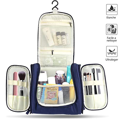 Toiletry bag Storage bag Premium travel bag wash bag waterproof Functional trolley holder for easy travel