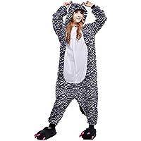03e4ea5f85432 Free Fisher Pijamas Siameses de Franela Dibujo Animado Unisex Traje Disfraz  Cosplay