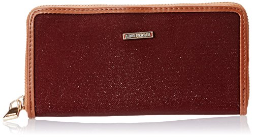 Lino Perros Women's Wallet (Brown)  available at amazon for Rs.347