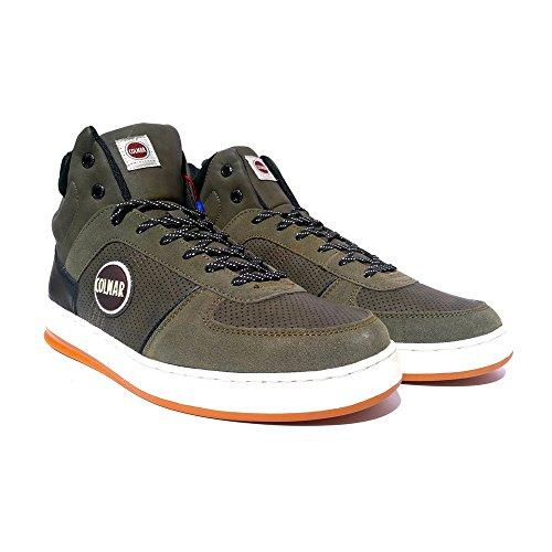 Colmar RENTON DRILL Sneakers Uomo Ecopelle Mid Grey Mid Grey 40 green