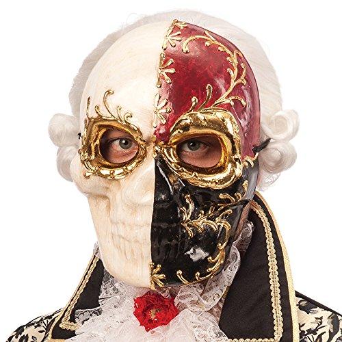 Carnival Toys 664 - Maske Schädel aus Pappmache