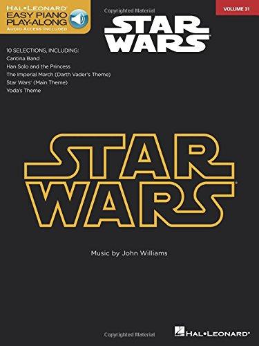 Star Wars: Easy Piano Play-Along Volume 31 (Easy Piano CD Play-Along) por John Williams