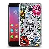 Head Case Designs Officiel Frida Kahlo Aventure Audacieuse Art Citations Étui Coque en Gel Molle Huawei Honor 5X / GR5