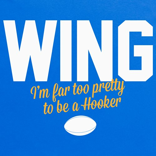 Too Pretty To Be A Hooker T-Shirt, Herren Royalblau