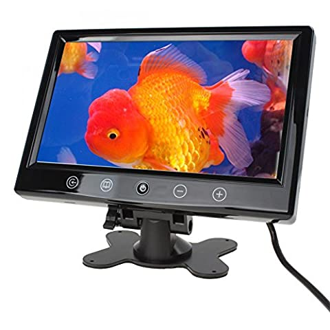 9 Inch TFT LCD Color Monitor LCD Car Rearview with