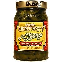 Mrs Renfro, Conserva de jalapeño - 6 de 454 gr. (Total 2724 gr.)
