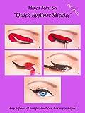 ORIGINAL Quick Eyeliner Stickies Stencils Trucco Perfetto Ochcio 32 pcs immagine