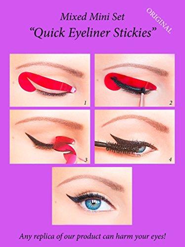ORIGINAL Rapide Eyeliner Stickies Outil de Maquillage des Yeux Parfait 32pcs